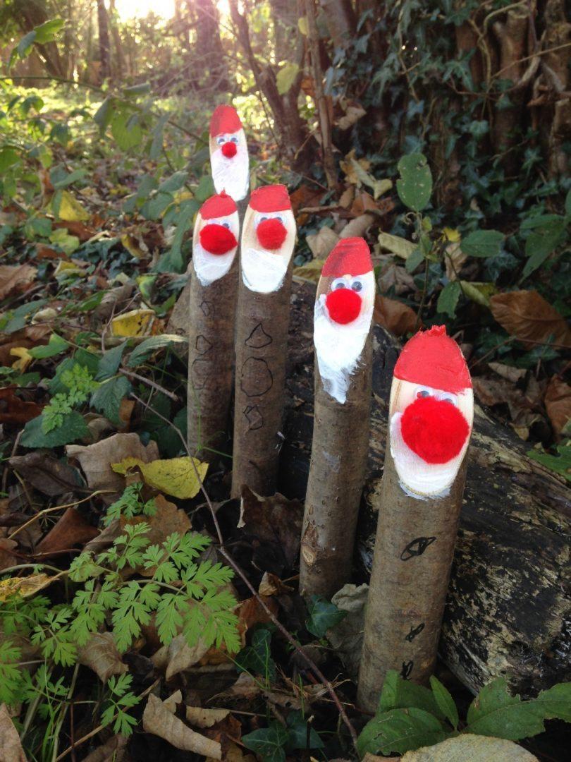 Festive fun at forest school
